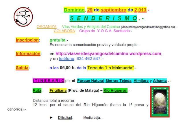 Send29sep13(RíoHiguerón).-