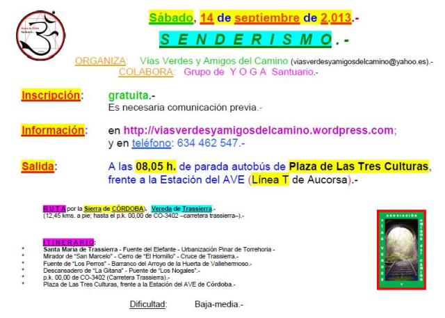 Send14sep13-08,05h. Vereda Trassierra.-